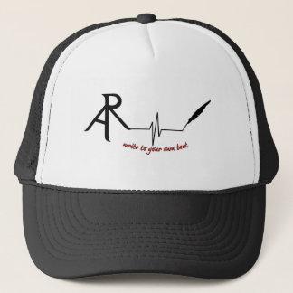 Rhetoric Askew Write to Your own beat logo trucker Trucker Hat