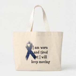 Rheumatoid Arthritis Awareness :: I am worn and... Jumbo Tote Bag