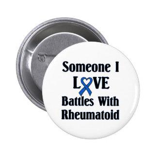 Rheumatoid RA 6 Cm Round Badge