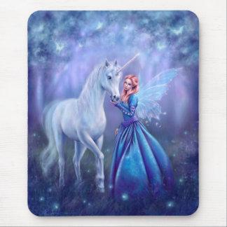 Rhiannon - Unicorn and Butterfly Fairy  Mousepad