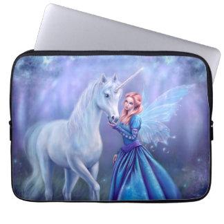 Rhiannon - Unicorn and Fairy Art Laptop Sleeve