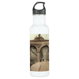 Rhine Bridge, Mannheim, Germany 710 Ml Water Bottle
