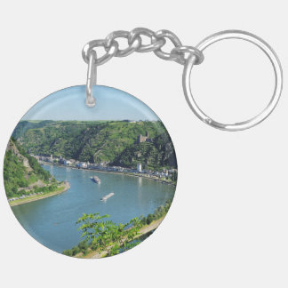 Rhine Valley to the Loreley Key Ring