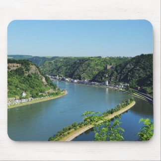 Rhine Valley to the Loreley Mouse Pad