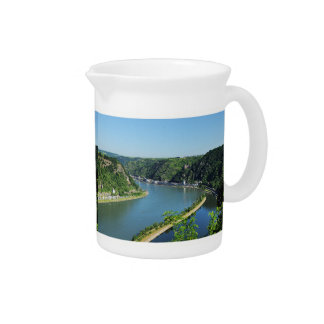 Rhine Valley to the Loreley Pitcher