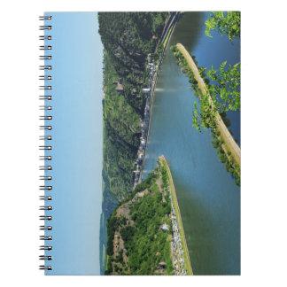 Rhine Valley to the Loreley Spiral Notebook