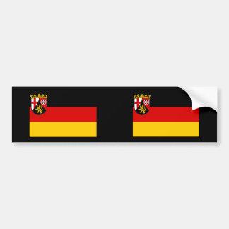 Rhineland Palatinate, Germany Bumper Sticker