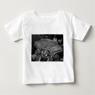 Rhinestone Harley in bw Baby T-Shirt