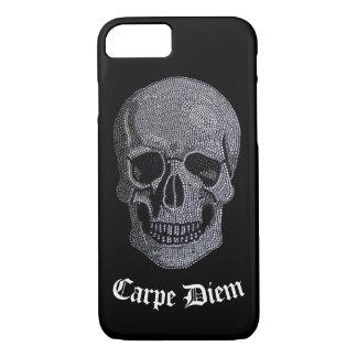 Rhinestone Skull iPhone 8/7 Case
