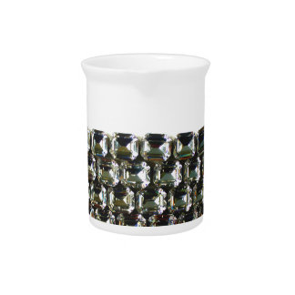 Rhinestones Pitcher
