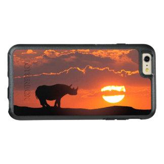 Rhino at sunset, Masai Mara, Kenya OtterBox iPhone 6/6s Plus Case