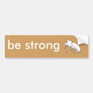 Rhino Beetle Bumper Sticker