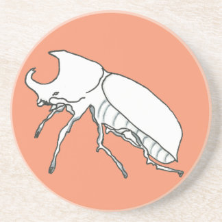 Rhino Beetle Coasters