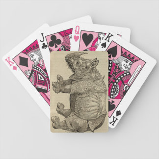 Rhino Bicycle Playing Cards
