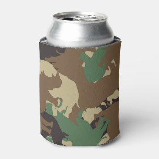 Rhino camouflage can cooler