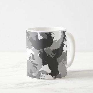 Rhino camouflage coffee mug