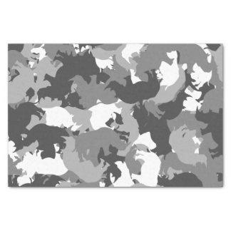 Rhino camouflage tissue paper