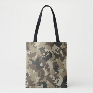 Rhino camouflage tote bag