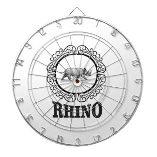 rhino club dartboard