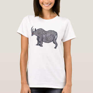 Rhino Drawing T-Shirt
