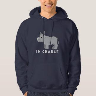Rhino in Charge! Hoodie