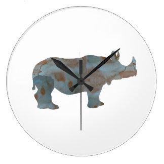 Rhino Large Clock