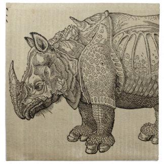 Rhino Napkin