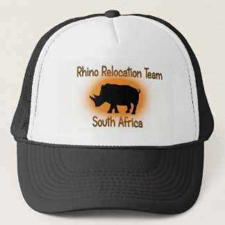 Rhino Relocation Team Safari Cap