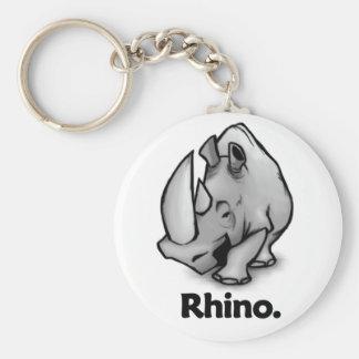 Rhino Rhino Keychains