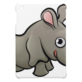 Rhino Safari Animals Cartoon Character iPad Mini Cases