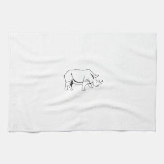 Rhino Tea Towel