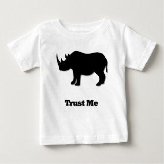 Rhino Trust Me black Baby T-Shirt