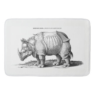 Rhinoceros Bath Mat