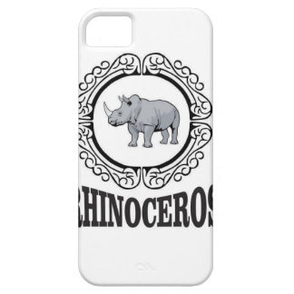 Rhinoceros in the mug barely there iPhone 5 case