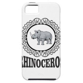Rhinoceros in the mug iPhone 5 cover