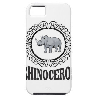 Rhinoceros in the mug tough iPhone 5 case