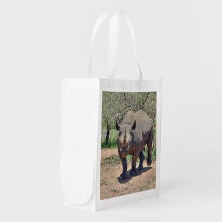 rhinoceros reusable grocery bag