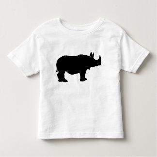 Rhinoceros silhouette toddler T-Shirt