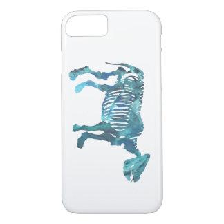 Rhinoceros skeleton iPhone 7 case