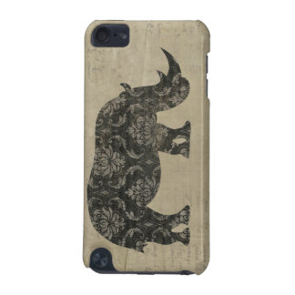 Rhinoceroses Silhouette iPod Case iPod Touch (5th Generation) Covers