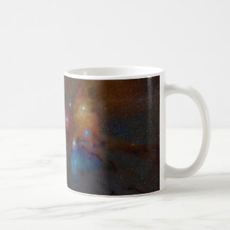 Rho Ophiuchi Cloud Complex Dark Nebula Basic White Mug