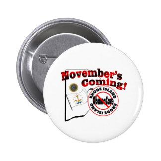 Rhode Island Anti ObamaCare – November's Coming Button