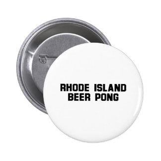 Rhode Island Beer Pong 6 Cm Round Badge