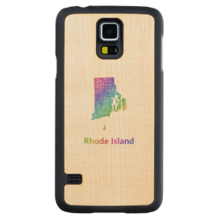 Rhode Island Carved Maple Galaxy S5 Case