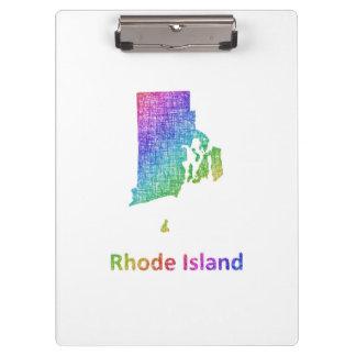 Rhode Island Clipboard