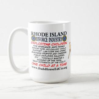 Rhode Island Divorce Industry. Classic White Coffee Mug