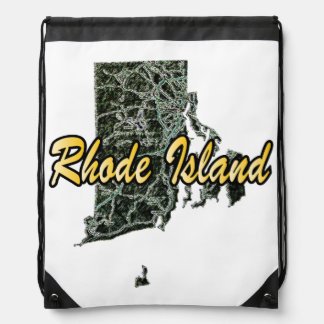 Rhode Island Drawstring Bag