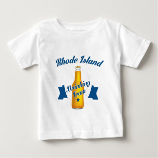 Rhode Island Drinking team Baby T-Shirt