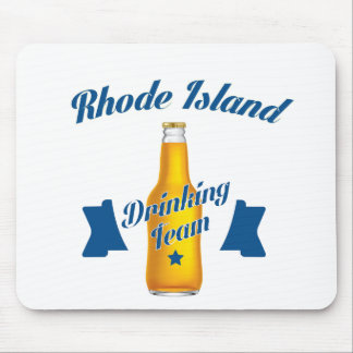 Rhode Island Drinking team Mouse Pad