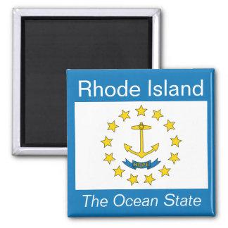 Rhode Island Flag Magnet